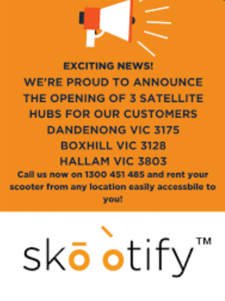 skootify melbourne scooter hire